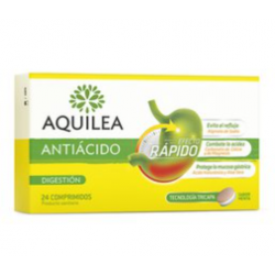AQUILEA Antiácido  24 Comprimidos Farmacias Buzo