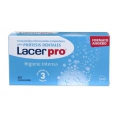 Lacer Protabs Limpieza Prótesis Dental 64 comp buzo farmacias