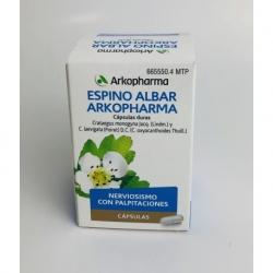 Espino Albar Arkopharma 84 capsulas duras