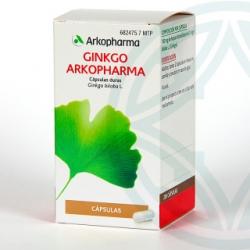 Ginkgo Arkopharma 200 capsulas duras