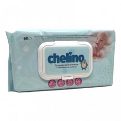 CHELINO FASHION  LOVE TOALLITAS INFANTILES  60 TOALLITAS buzo farmacia