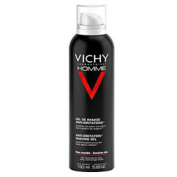 Vichy Homme Gel De Afeitado Anti-Irritaciones 150 Ml