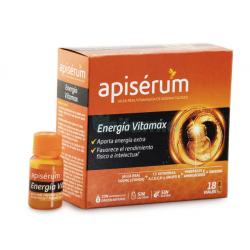 Apiserum Energía Vitamax 18 Viales