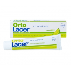 LACER ORTODENT GEL DENTIFRICO  75 ML LIMA FRESCA