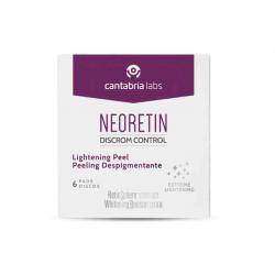 Neoretin Disrom Control Peeling Despigmentante 6 Discos buzo farmacias