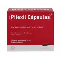 Pilexil para el cabello y uñas 100 cápsulas buzo farmacias