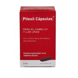 Pilexil Cabello y Uñas 50 cápsulas buzo farmacias