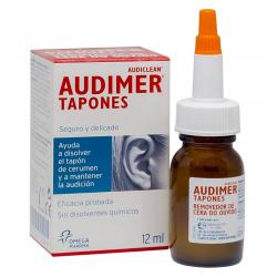 Audimer Tapones Limpieza de Oídos gotas 12 ML buzo farmacias