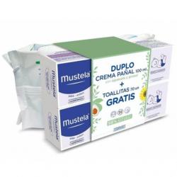 Mustela Duplo Crema Pañal 100ml + 70 Toallitas Gratis