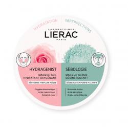 Lierac Duo Mask Hydragenist + Sebologie 2 x 6ml