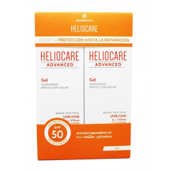 Heliocare Advanced Gel Pack Duplo SPF50+ 200ml buzo farmacias