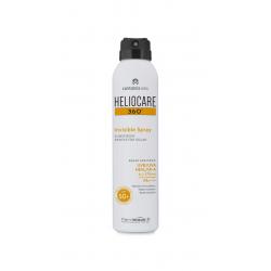 Heliocare 360 Spray Invisible  SPF50+ 200ml buzo farmacias