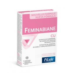 Pileje Feminabiane CU  14 Cápsulas + 14 Cápsulas Farmacias Buzo