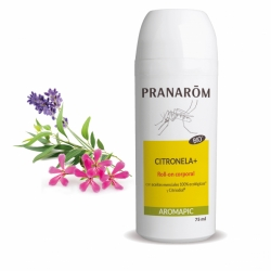Pranarom Aromapic Roll-on Citronela+  75 mL