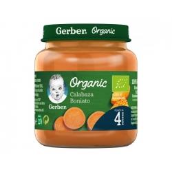 Gerber Organic Pouch Calabaza, Plátano, Zanahoria 90 g