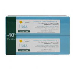 Klorane Bebé Eryteal Pomada Pack Duo 75ml buzo farmacias