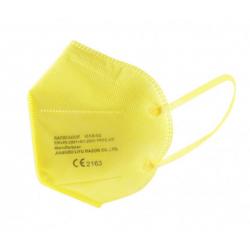 Mascarilla FFP2 Adulto Amarilla buzo farmacias