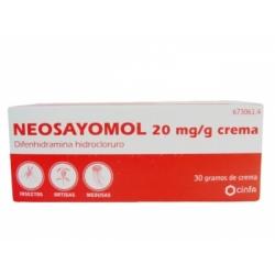 NEOSAYOMOL 2 CREMA 30 G
