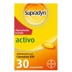 Supradyn Activo 30 comprimidos buzo farmacias