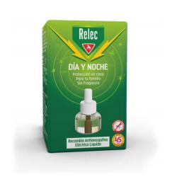 Relec Día y Noche antimosquitos Eléctrio recambio 1 unidad buzo farmacias