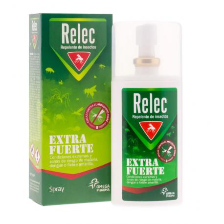 Relec Extra Fuerte Spray Repelente 75ml buzo farmacias