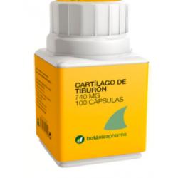 Botanicapharma Cartilago De Tiburon 740 MG 60 Capsulas