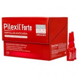 Pilexil Forte Ampollas Anticaída. 20 ampollas de 5ml (spray). FarmaciaBuzo