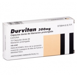 DURVITAN RETARD 300 MG 10 CAPS Buzo farmacia