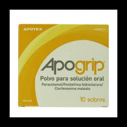 APOGRIP 10 SOBRES Buzo farmacia