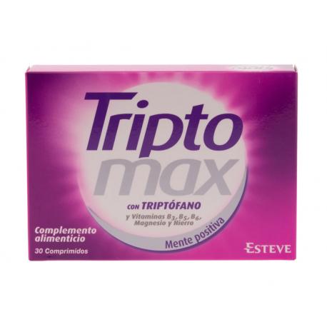 TRIPTOMAX  - 30 COMP buzo farmacias
