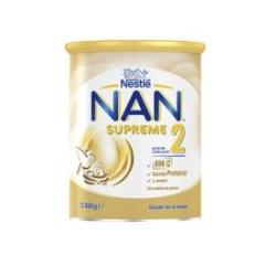 Nestlé Nan 2 Supreme 800g buzo farmacia