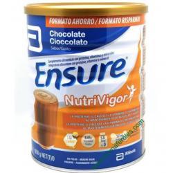 Ensure Nutrivigor Chocolate 850g BUZO FARMACIAS