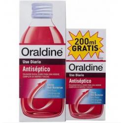 Oraldine Antiséptico Pack 400 ML +200 ML buzo farmacias