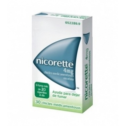 Nicorette 4mg 30 chicles