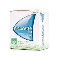 Nicorette 2mg 210 chicles