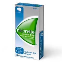 Nicorette Ice Mint 4mg 30 chicles