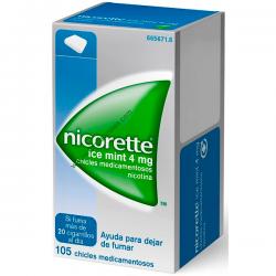 Nicorette ICe Mint 4mg 105 chicles