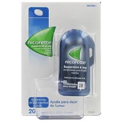 Nicorette SuperMint 4mg 20 comprimidos para chupar
