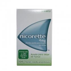 Nicorette 4mg 105 chicles