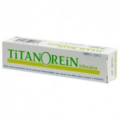 Titanorein Crema Rectal 20g