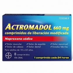 Actromadol 8 Comprimidos