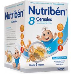 Nutribén 8 cereales 600 g buzo farmacia