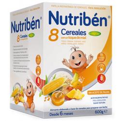 Nutriben 8 Cereales con un toque de Miel 4 Frutas buzo farmacia