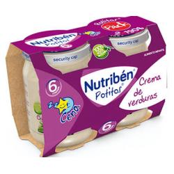 Nutribén Potitos Crema de Verduras (Bipack) 2 x 190 g