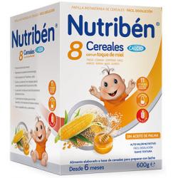 Nutribén 8 Cereales con un toque de Miel Calcio 600 g buzo farmacia