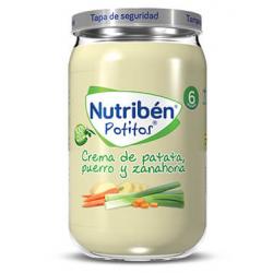 Nutribén Potitos. Crema de Patata, Puerro y Zanahoria 235 g buzo farmacia