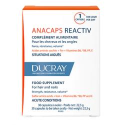 Ducray Anacaps 30 Cápsulas