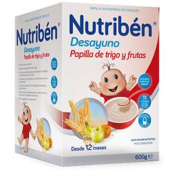 Nutribén Desayuno Trigo y Frutas 600 g
