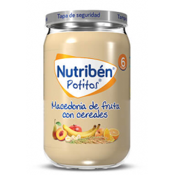 Nutribén Potitos Macedonia de frutas con Cereales 230 g