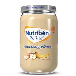 Nutribén Potitos Manzana y Plátano 235 g